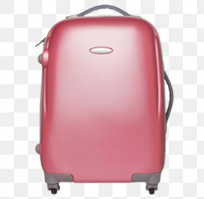 Red Luggage - Hand Luggage Red Baggage Travel PNG