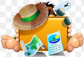 Travel - Travel Summer Vacation Clip Art PNG