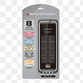 Power Board - AC Power Plugs And Sockets Power Converters Surge Protector Power Cord Electronics PNG