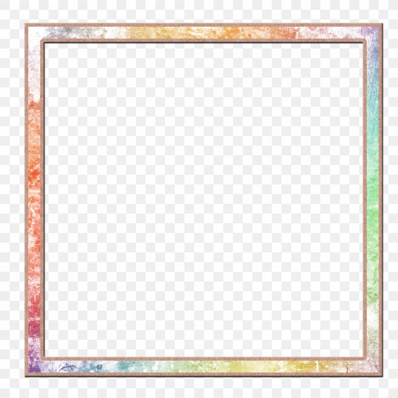 Watercolor Picture Frame, PNG, 2000x2000px, Watercolor Painting, Area, Color, Designer, Framing Download Free