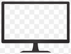 Monitor - Black And White Pattern PNG
