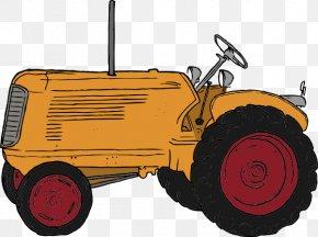 John Deere Tractor Cartoon - John Deere Agriculture Agricultural Machinery Tractor Clip Art PNG