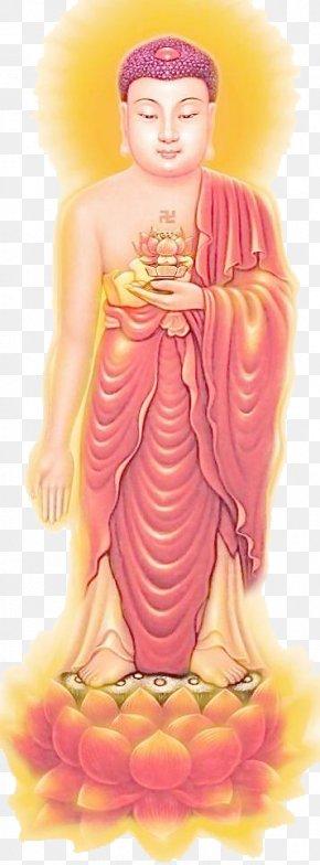 Lord Buddha - Longer Sukhāvatīvyūha Sūtra Amitābha Nianfo Buddhahood Buddhism PNG