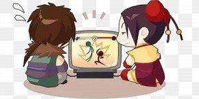 Two Children Watching TV - Television Show Child Infomercial Communicatiemiddel PNG