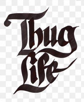 Thug Life Text - Thug Life Icon PNG