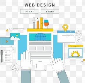 Vector Web Design Material - Euclidean Vector Icon PNG