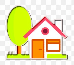 Real Estate Home - Travel & Places Emoticons Icon House Icon PNG