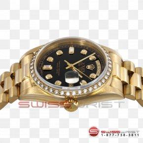 Diamond Bezel - Watch Rolex Day-Date Gold Bezel PNG