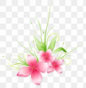 Pink Flower Clip-Art Image - Floral Design Cut Flowers Flower Bouquet Artificial Flower Branch PNG