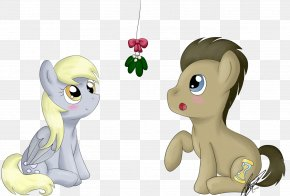 What Happens Under The Mistletoe - My Little Pony: Friendship Is Magic Fandom Derpy Hooves Horse Cartoon PNG