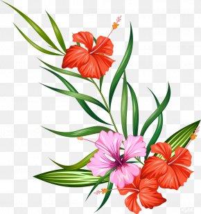 Watercolor Painting Flower - Flower Clip Art PNG