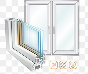 Window - Window Soundproofing Glass Building Insulation Insulated Glazing PNG