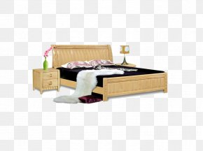 Bed - Bed Frame Furniture Mattress PNG