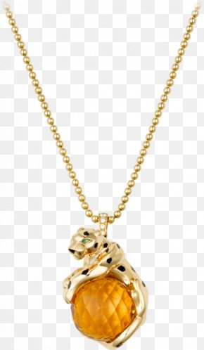 Necklace - Cartier Necklace Jewellery Gold Charms & Pendants PNG
