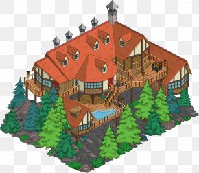 The Simpsons Movie - The Simpsons: Tapped Out Mr. Burns Building House Marge Simpson PNG