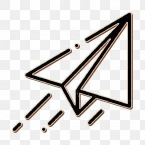 Symbol Triangle - Paper Plane Icon Plane Icon User Interface Icon PNG