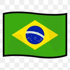 Flag Of Brazil - Flag Of Brazil Brazilian National Anthem Stock Photography PNG