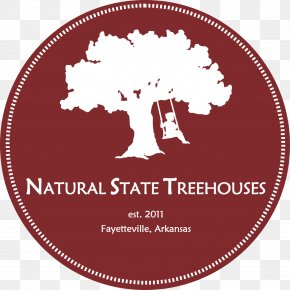 Natural Tree - Tree House Up In The Tree Branch PNG
