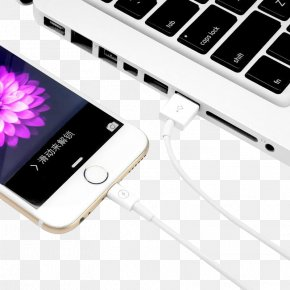 Mobile Phone Notebook Data Cable - Amazon.com Wireless Mobile Phone Electrical Cable USB Flash Drive PNG