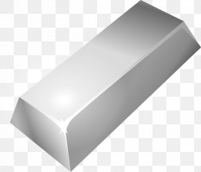 Silver - Silver Gold Bar Clip Art PNG