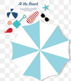 Vector Parasol - Euclidean Vector Summer Illustration PNG