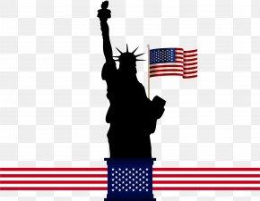 American Statue Of Liberty - Statue Of Liberty Clip Art PNG