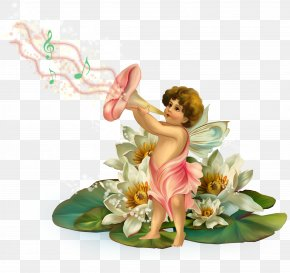 Flower Elf - Fairy Elf Clip Art PNG