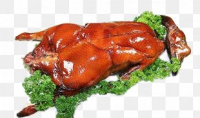 Hong Kong-style Deep-rooted Goose - Guangdong Roast Goose Peking Duck Char Siu PNG