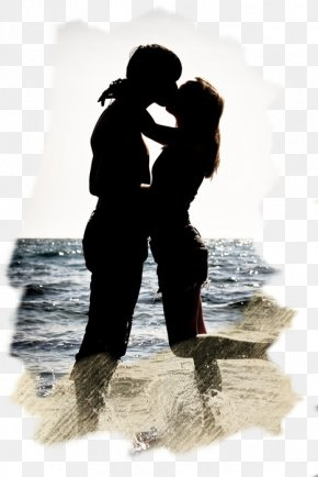 H5 Creative Couple Kissing Seaside - Kiss Love Couple Romance Ex PNG