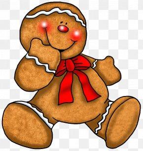 Transparent Christmas Gingerbread Ornament - Gingerbread Man Gingerbread House Clip Art PNG