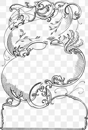 Vintage Lines Cliparts - Victorian Era Borders And Frames Picture Frame Ornament Clip Art PNG