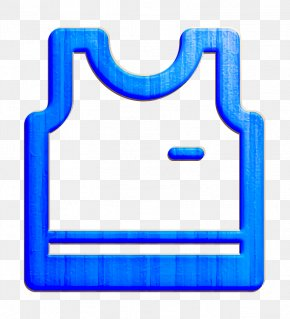 Rectangle Electric Blue - Clothes Icon Shop Icon Tank Icon PNG