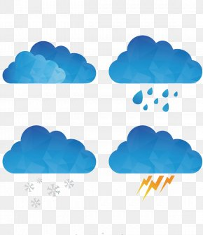 Weather Forecast Material - Cloud Rain Euclidean Vector Drawing PNG