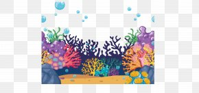 Beautiful Seabed Coral PNG