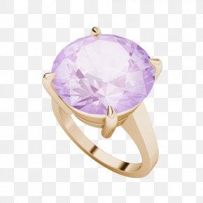 Watercolor Pink Circle - Amethyst Ring Crystal United Kingdom Diamond PNG