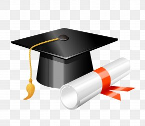 Graduation Season Element - Square Academic Cap Graduation Ceremony Clip Art PNG