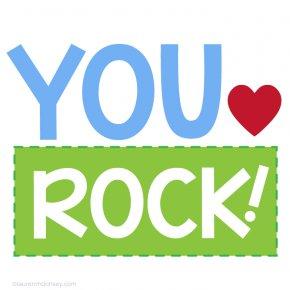 Rock Valentine Cliparts - Blog Clip Art PNG