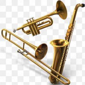 Musical Instruments - Musical Instruments Brass Instruments Trumpet PNG