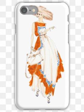 Iphone Illustration - Drawing Fashion Illustration Canvas Print Art PNG