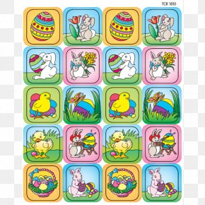 Easter - Sticker Easter Bunny Easter Egg Christmas Card PNG