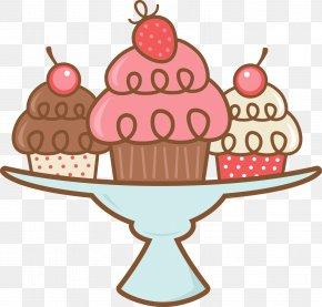 Cupcake - Cupcake Muffin Tin Clip Art PNG