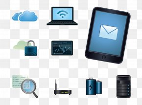Computer Science And Technology Of Modern Electronic Equipment Lens Material - Technology Computer Icon PNG