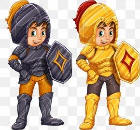 Cartoon Knight - Body Armor Cartoon Knight PNG