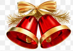 Christmas Bells Decorations - Jingle Bell Christmas Decoration Christmas Ornament PNG