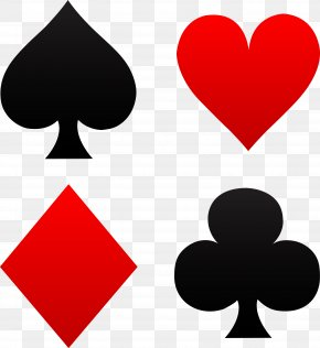 Cards - Playing Card Suit Symbol House Of Cards Clip Art PNG