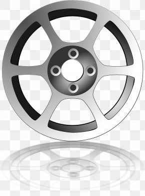 Car Wheel - Car Rim Alloy Wheel Clip Art PNG
