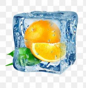 Frozen Orange - Juice Ice Cube Orange Frutti Di Bosco PNG