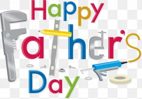 Happy Fathers Day - Father's Day Wish Child Happiness PNG