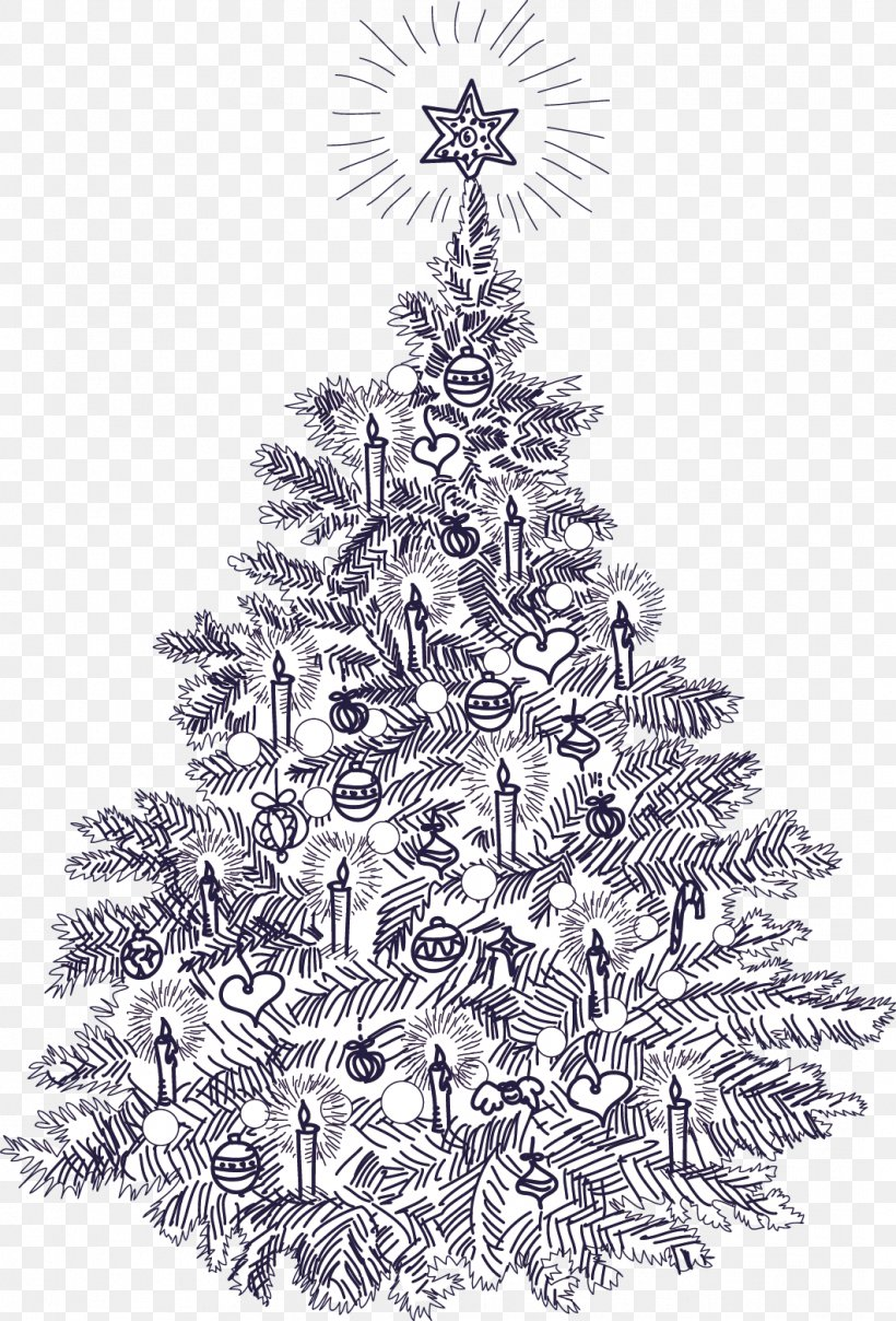 Christmas Tree Christmas Card Vintage Clothing Illustration Png 1061x1564px Christmas Black And White Branch Christmas And