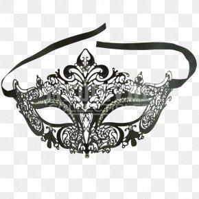 Mask - Masquerade Ball Mask Filigree Gold Costume PNG